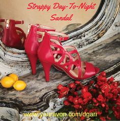 https://www.avon.com/product/strappy-day-to-night-sandal-57966?rep=dgari Ciao, Bella! #italian #shoe #sandal #heels #fashion #avon