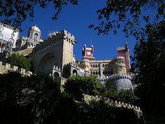 The fairytale Palacio da Pena in Sintra!
