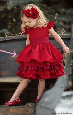 Persnickety Clothing - Loralei Dress in Red Holiday Fall 2013 Holiday Fashion Kids, Little Girl Fashion, Little Girl Dresses, Girls Dresses, Girls Red Dress, Fashion Wear, Cheap Fashion, Fashion Clothes, Fashion Accessories