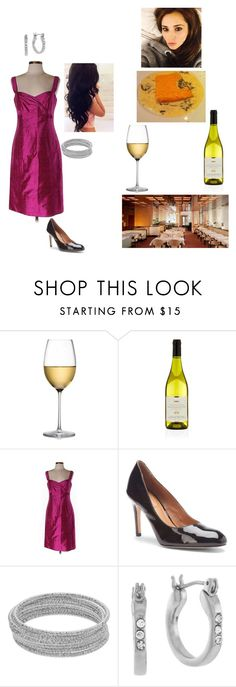 """""""Kenna - Having Dinner with Bobbi"""" by lsd-and-halloweencandy ❤ liked on Polyvore featuring RogaÅ¡ka, Harrods, Armani Collezioni, Corso Como, Apt. 9, BCBGeneration and Perfection Beauty"""