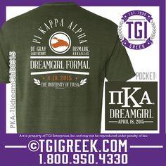 TGI Greek - Pi Kappa Alpha - Formal - Comfort Colors - Greek T-shirts - Date Party Shirts  #tgigreek #pikappaalpha