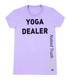 Who's your yoga dealer? Make it Naked Truth Yoga Inc. We've just added our 'Yoga Dealer' T-shirts to our line and we think you're going to love yours! Yoga Clothing, Yoga Teacher Training, Vancouver, Naked, Love You, Mens Tops, T Shirt, Inspiration, Accessories