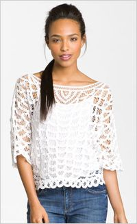 Hinge Lace Top, $88, Nordstrom.com