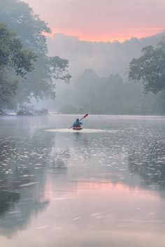 Paddling in Mist by Robert Charity on 500px )