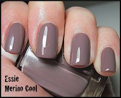 Essie Merino Cool - wearing this now... Good for fall