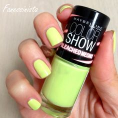 Fanessinista: (Collection) Maybelline - Bleached Neons