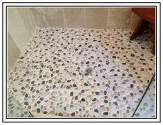 Shower Floor Tile Ideas | Pebble Tile Shower Floor Problems : Pebble Tile Shower  Floor Problems