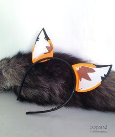 Fox Ears by ZlaKalamarnica.deviantart.com on @DeviantArt