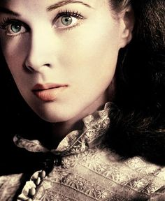 """Vivian Leigh as Scarlett O'Hara in """"Gone With the Wind"""""""