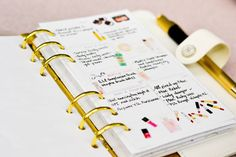 Beauty products wish list/favorites printable by ShopAtMeline