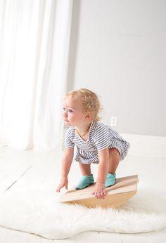Toddler Balance Board | CloverandBirch on Etsy