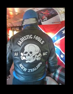 Aryan members only club that presides in New Zealand Aryan Nations & Sadist Souls MC New Zealand Biker Clubs, Motorcycle Clubs, Baggers, Audi Tt, Ford Gt, Volvo, Peugeot, Head Hunter, David Mann