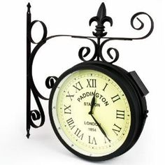 ashton sutton h110920f double sided bracket clock and thermometer check out the image by visiting the link outdoor pinterest outdoor