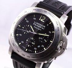 Panerai PAM250 Daylight Chronograph - Panerai - Estate Watches