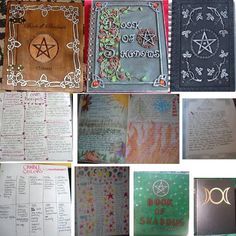 Easy to read instructions for your own book of shadows, I know I could have used this when I was first starting out lol oh well you live and you learn ;)