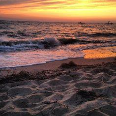Narragansett Beach. Rhode Island.