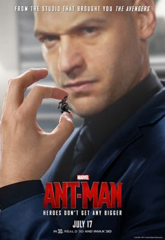 """marvelentertainment: Check out 7 new character posters, plus a new TV spot for Marvel's """"Ant-Man,"""" in theaters July 17th!"""