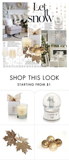 """Untitled #163"" by natalijaxxx ❤ liked on Polyvore featuring interior, interiors, interior design, home, home decor, interior decorating, Mamas & Papas, HolidayParty and deckthehalls"
