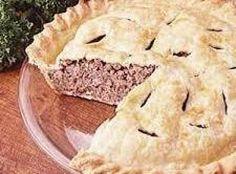 Frech Meat Pie (Great-Great Grandma's Recipe)