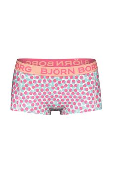 Björn Borg mini boxer voor meisje Multi Dots   Bjorn Borg mini boxer for girl Multi Dots #kindrondergeod #boxer #meisje #BJORNBORG #kidsunderwear