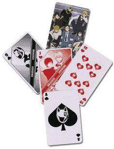 Durarara Playing Cards Poker Deck by GE Animation. $7.99. Durarara Playing Cards