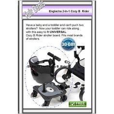 Englacha 2-in-1 Cozy B Rider Connector, Black stand seat pram rider second child Anuncios en la Categoría Cochecitos y Sillas,Cosas de Bebés de eBid América del Sur   145732860