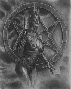 Creature Design, Compass Tattoo, Macabre, Occult, Dark Art, Galaxies, Painting & Drawing, Concept Art, Charcoal