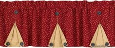 The Country Porch features Ohio Star lined button pleat valances from Park Designs. Pleated Curtains, Diy Curtains, Kitchen Curtains, Window Curtains, Ohio, Decorating, Button, Stars, Sewing