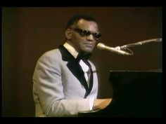 "Ray Charles - Georgia on my Mind  The movie ""Ray"" was Awesome.     Such passion and talent."