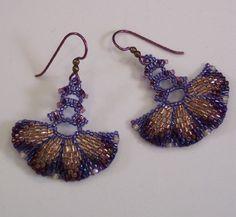 Pagoda Fan Earrings.