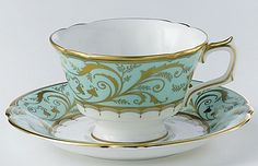 Darley Abbey Tea Cup and Saucer | Royal Crown Derby