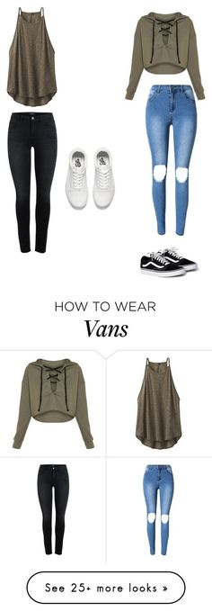 """""""Cute Friday Night Outfits"""" by lsantana13 on Polyvore featuring prAna and Vans"""