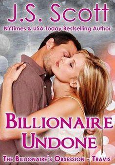 Krazy Book Lady: Billionaire Undone ~ Travis by J.S. Scott - Review