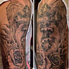 Healed Custom Cover Up by Joshua Doyon (IG: @InkedUpGing)