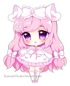 Pink Princess [With Speedpaint!] by Sueweetie.deviantart.com on @DeviantArt