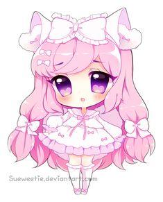 Pink Princess [With Speedpaint!] by Sueweetie.deviantart.com on @DeviantArt