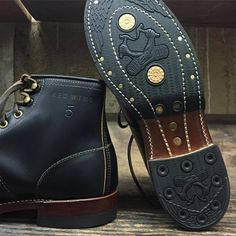 Redwing Irish Setters came in for a little Role Club makeover. I resoled  them with