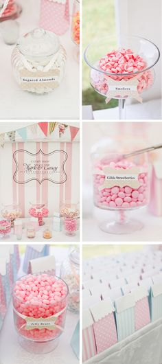 lovely sweets...love the little treat bags