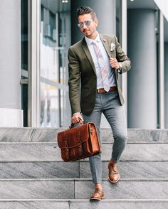 Dapper style with madras plaid.