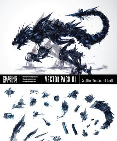 Coldfire Vector pack by *ChasingArtwork on deviantART