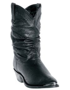 Dingo Charlie Slouch Cowgirl Boots - Round Toe