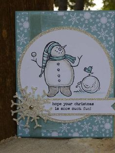 Snow Much Fun Mojo by junior tx - Cards and Paper Crafts at Splitcoaststampers
