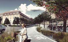 Copenhagen unveils world's first climate-change resilient neighborhood.