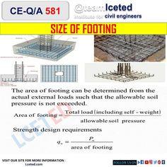 Civil Engineering Construction, Bridge Construction, Concrete Footings, Reinforced Concrete, Engineering Notes, Civilization, Home Interior Design, Tools, Architecture