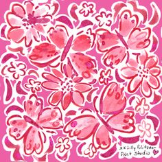 An extra pink #lilly5x5 in honor of a special someone. #LIBSTRONG
