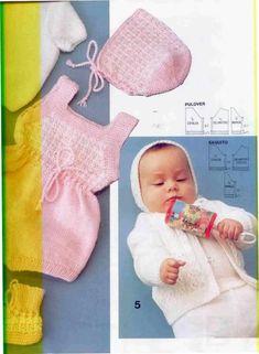 Patrón capota bebe