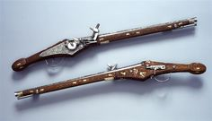 Radschlosspistole von einem Paar  Suhl. Um 1615.