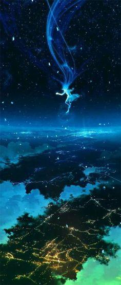 images for illustration anime art Manga Art, Anime Art, Fantasy Kunst, Wow Art, Fantasy Landscape, Landscape Art, Anime Scenery, Fantasy World, Amazing Art