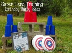 How to have a Super Hero Training Birthday Party - Green-Eyed Girl Productions