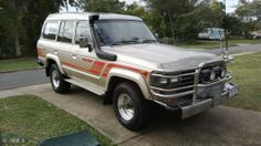 For Sale in Australia: 1988 Toyota Landcruiser HJ61RG Sahara - Everything FJ60